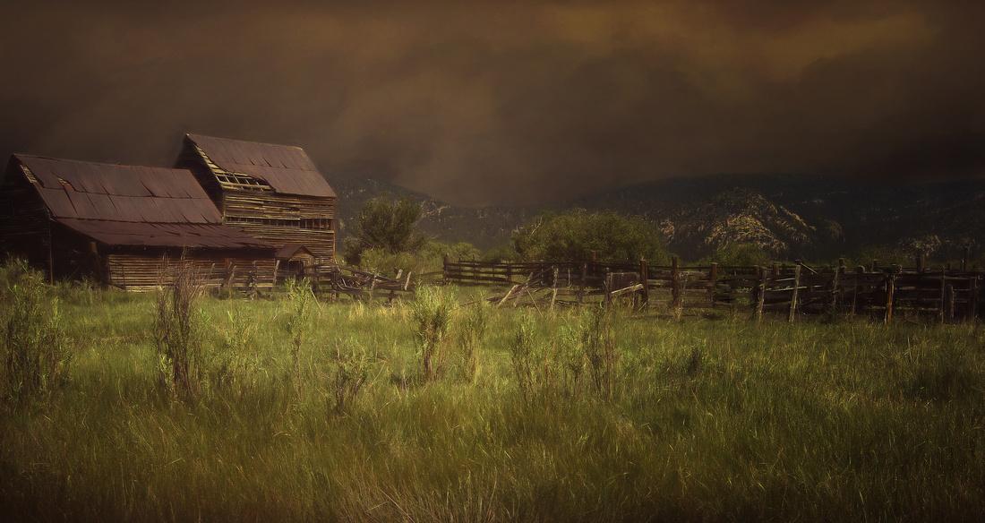 Old Barn, Mora, New Mexico