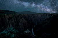 Black Canyon of the Gunnison Milky Way
