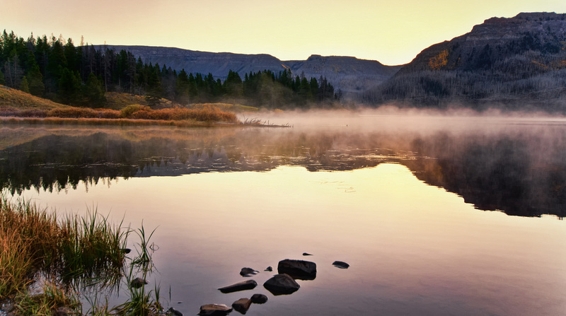 Trappers Lake Sunrise