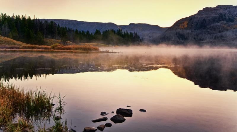 Trappers Lake Sunrise